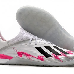 Adidas X 19.1 IC White Black Pink 39-45