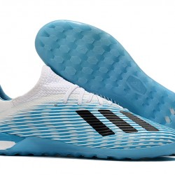 Adidas X 19.1 IC White Blue Black 39-45