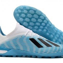 Adidas X 19.1 TF Blue White Black 39-45