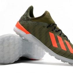 Adidas X 19.1 TF Green Orange 39-45