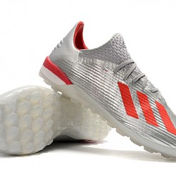 Adidas X 19.1 TF Silver Red 39-45