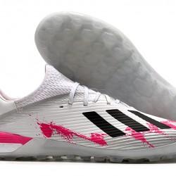 Adidas X 19.1 TF White Black Pink 39-45