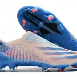 Adidas X Ghosted FG White Blue Orange 39-45