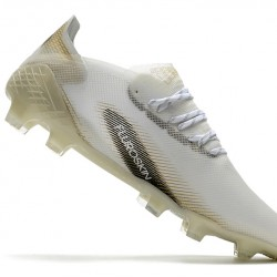 Adidas X Ghosted.1 FG White Gold 39-45