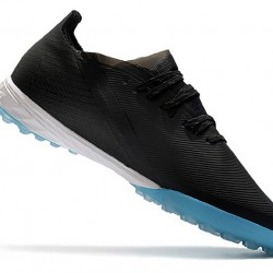 Adidas X Ghosted.1 TF Black Blue 39-45