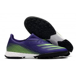Adidas X Ghosted.3 TF Purple Green 39-45