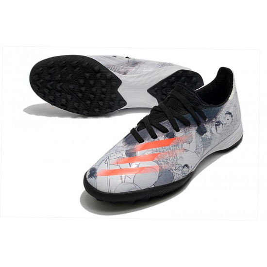 Adidas X Ghosted.3 TF White Black Orange 39-45