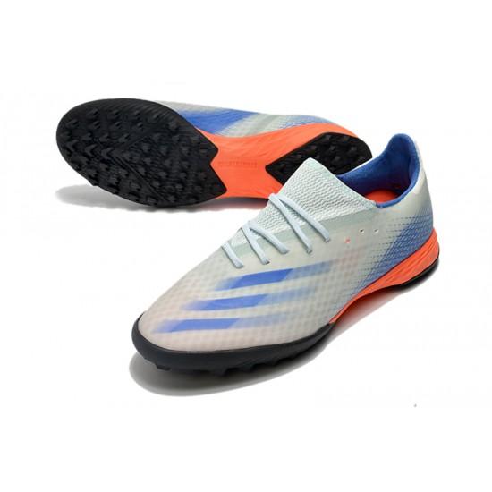 Adidas X Ghosted.3 TF White Blue Orange 39-45