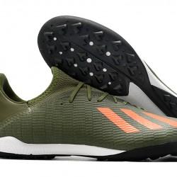 Adidas X Tango 19.3 TF Green Orange 39-45