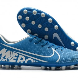 Nike Dream Speed Mercurial Vapor Academy AG Blue Silver 39-45