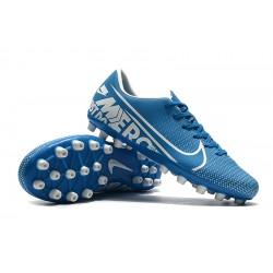 Nike Dream Speed Mercurial Vapor Academy AG Blue Silver 39-45