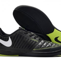 Nike Lunar Gato II IC Black Green Silver 39-45