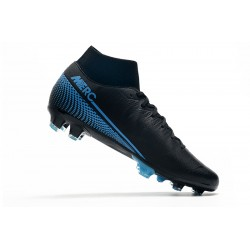 Nike Mercurial 7 Elite FG Black Blue 39-45