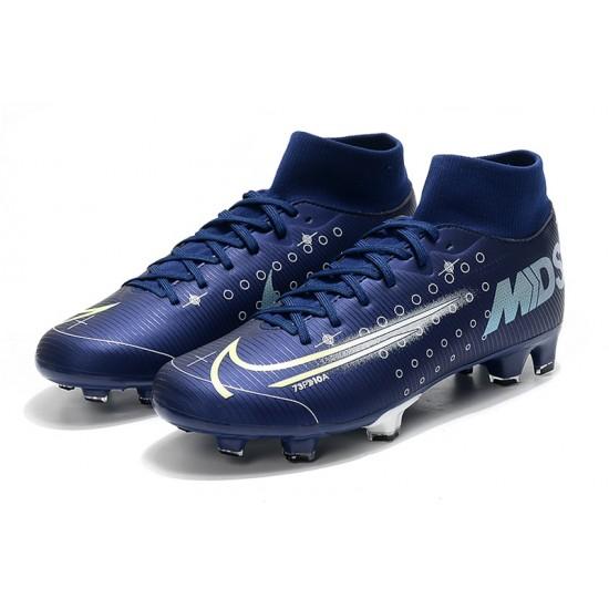 Nike Mercurial 7 Elite FG Blue White 39-45