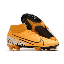 Nike Mercurial 7 Elite FG Orange Black 39-45