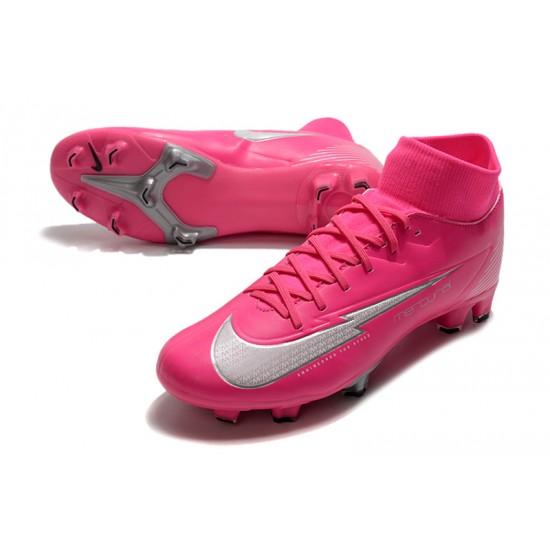 Nike Mercurial 7 Elite FG Pink Silver 39-45