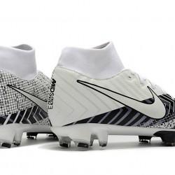 Nike Mercurial 7 Elite FG White Black 39-45