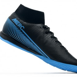 Nike Mercurial Superfly VII Academy IC Black Blue 39-45