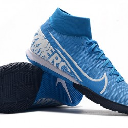 Nike Mercurial Superfly VII Academy IC Blue White 39-45