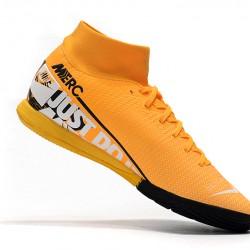 Nike Mercurial Superfly VII Academy IC Orange Black White 39-45