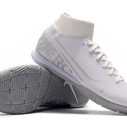 Nike Mercurial Superfly VII Academy IC White Silver 39-45