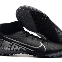 Nike Mercurial Superfly VII Academy TF Black Grey 39-45