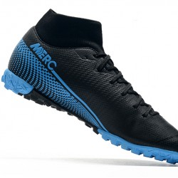 Nike Mercurial Superfly VII Academy TF Black Red 39-45