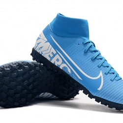 Nike Mercurial Superfly VII Academy TF Blue White 39-45
