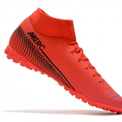 Nike Mercurial Superfly VII Academy TF Red Black 39-45