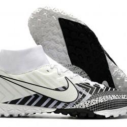 Nike Mercurial Superfly VII Academy TF White Black 39-45