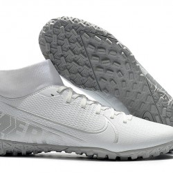 Nike Mercurial Superfly VII Academy TF White Silver 39-45