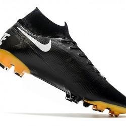 Nike Mercurial Superfly 7 Elite FG Black White 39-45
