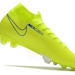 Nike Mercurial Superfly 7 Elite FG Green Blue 39-45