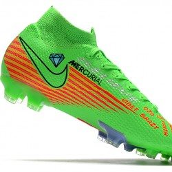 Nike Mercurial Superfly 7 Elite FG Green Red 39-45