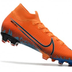Nike Mercurial Superfly 7 Elite FG Orange Blue 39-45