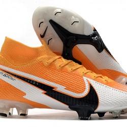 Nike Mercurial Superfly 7 Elite FG Orange White Black 39-45