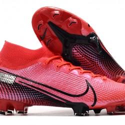 Nike Mercurial Superfly 7 Elite FG Pink Black Red 35-45