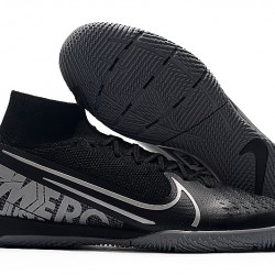 Nike Mercurial Superfly 7 Elite MDS IC Black Grey 39-45