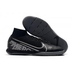 Nike Mercurial Superfly 7 Elite MDS IC Black Grey 39-45