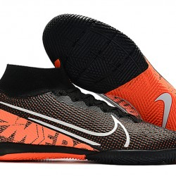 Nike Mercurial Superfly 7 Elite MDS IC Black Orange 39-45