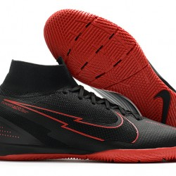 Nike Mercurial Superfly 7 Elite MDS IC Black Red 39-45