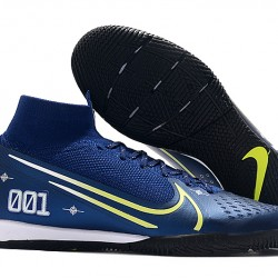 Nike Mercurial Superfly 7 Elite MDS IC Blue Green 39-45