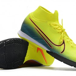 Nike Mercurial Superfly 7 Elite MDS IC Green Blue Orange 39-45