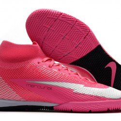 Nike Mercurial Superfly 7 Elite MDS IC Pink Silver 39-45
