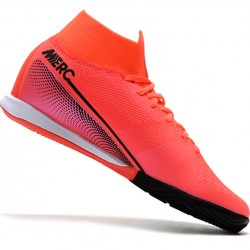 Nike Mercurial Superfly 7 Elite MDS IC Red Black Pink 39-45
