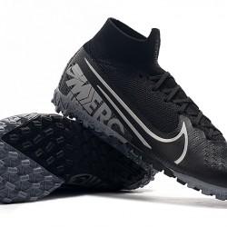 Nike Mercurial Superfly 7 Elite MDS TF Black Silver 39-45