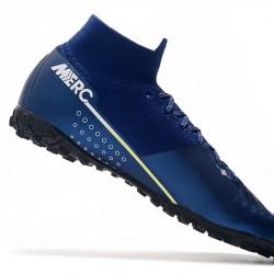 Nike Mercurial Superfly 7 Elite MDS TF Blue Green 39-45