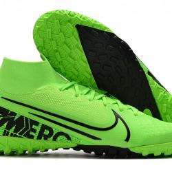 Nike Mercurial Superfly 7 Elite MDS TF Green Black 39-45