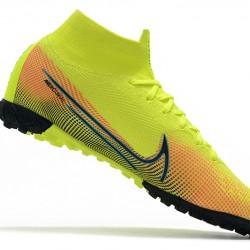 Nike Mercurial Superfly 7 Elite MDS TF Green Orange Blue 39-45