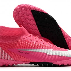 Nike Mercurial Superfly 7 Elite MDS TF Pink White 39-45